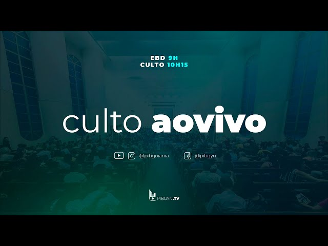 Culto Matutino - 18/04/2021 - Pr Rubens Monteiro - Até Aqui