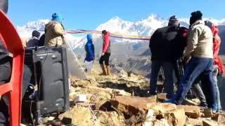 Nepali Movie Shooting in mustang