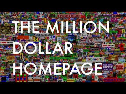 The Million Dollar Homepage (2005)