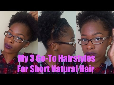 Go To Natural Hairstyles For Short Hair