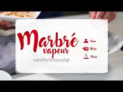 recette-cookeo-mini-marbrés-vanille-chocolat-vapeur