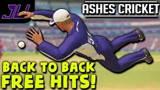 Baixar BACK TO BACK FREE HITS! NO BALL!  - Ashes Cricket Career | Ashes Cricket Gameplay | Episode 27