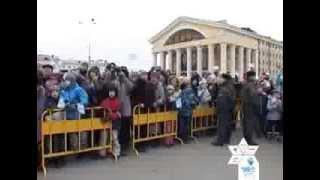 Paralympic Torch Relay (Day 4) - Saint-Petersburg, Arkhangelsk, Petrozavodsk, Kalinigrad