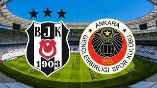 Beşiktaş - Gençlerbirliği maçı ne zaman, hangi kanalda, saat kaçta?