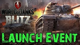 World of Tanks Blitz Launch Event + First Look