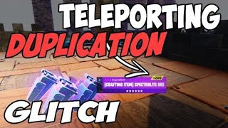 !LITERALLY INSANE! DUPLICATING Glitch And TELLEPORTING SCAM GLITCH! (Scammer gets scammed) Fortnite
