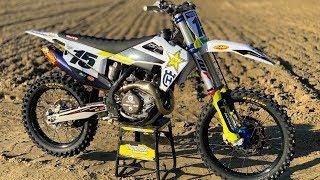 First Ride 2020 Husqvarna FC450 Rockstar Edition - Motocross Action Magazine