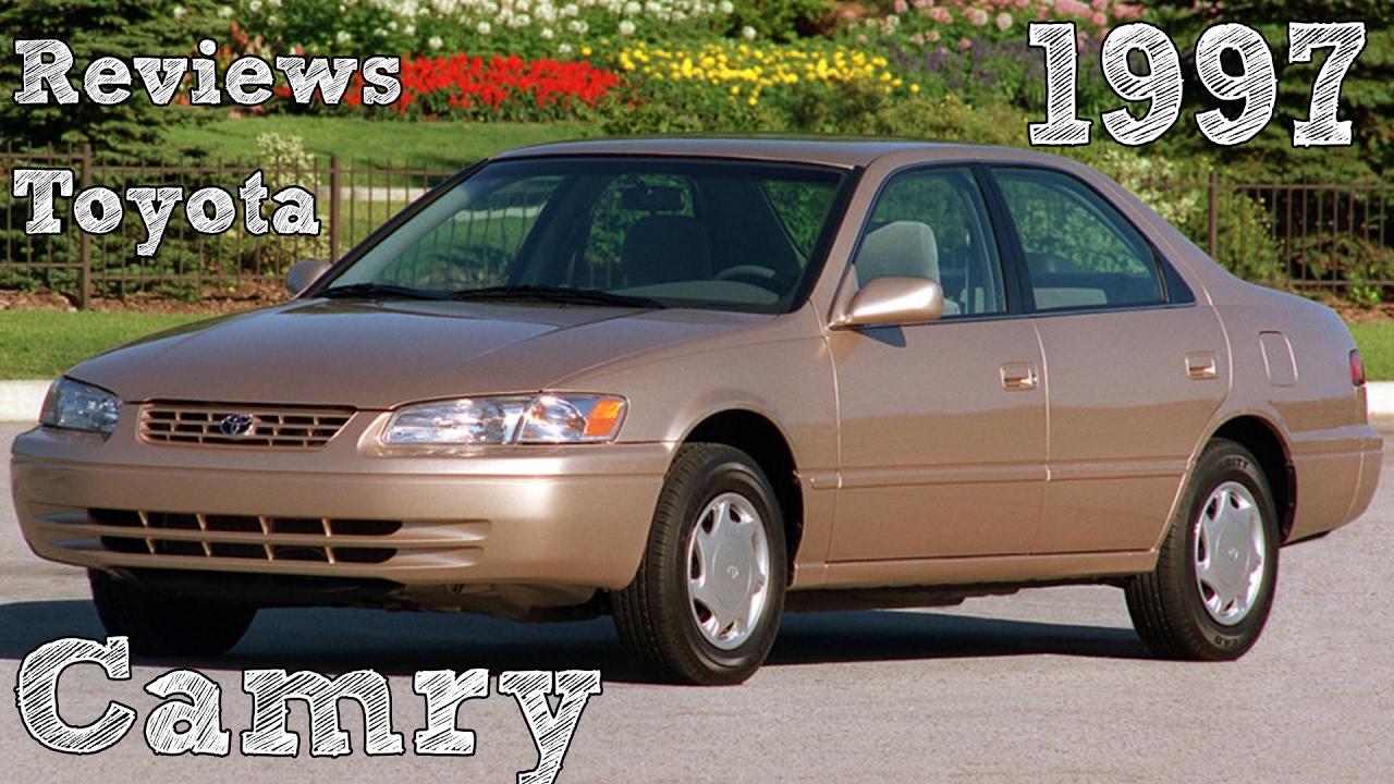 1997 Toyota Camry Maintenance