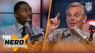 Greg Jennings & Colin compare Wild Card weekend picks, talk Mike McCarthy & Jets | NFL | THE HERD