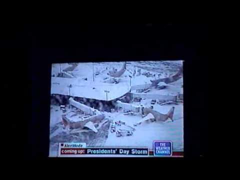Presidents Day Blizzard February 2003 - Rye Brook, NY