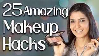 25 Amazing Makeup Hacks - Ghazal Siddique