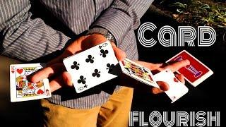 Обучение флоришу с картами // Cardistry Tutorial // Flourish Bluegarden // By Bestfocus777