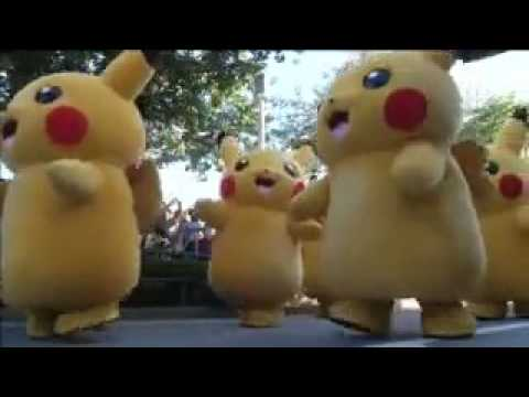 Pikachus gigantes invade la ciudad de Yokohama