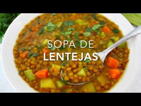Dieta lentejas con verduras