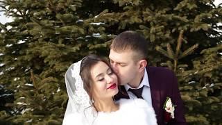 Морозная свадьба Дениса и Екатерины. Лесозаводск