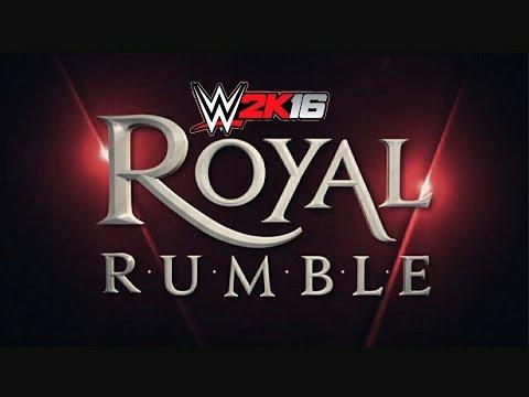 WWE 2k16 highlights - Royal Rumble...
