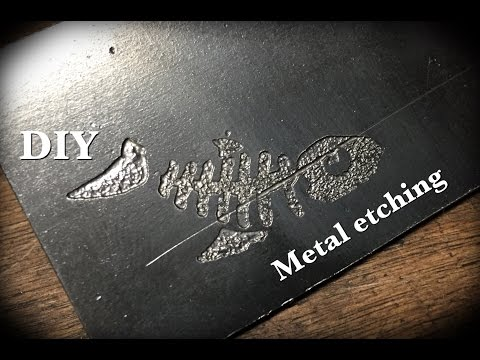 DIY: Metal Etching
