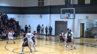 P.J. Ringel steal and layup