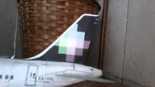 A320 volaris papercraft