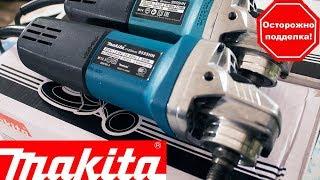 Makita 9555HN. Отличия подделки от ПОДДЕЛКИ