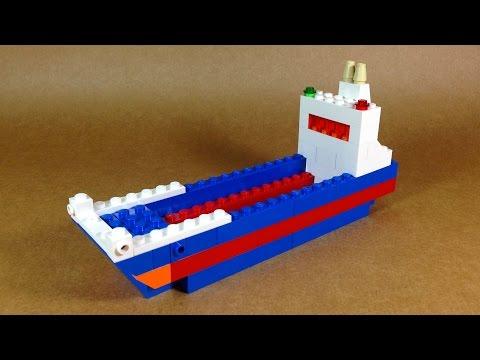 How To Make Lego CARGO SHIP  - 10664 LEGO® Bricks and More Creative Tower Tutorial