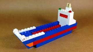 How To Make Lego CARGO SHIP  - 10664 LEGO® Bricks and More Creative Tower Tutorial
