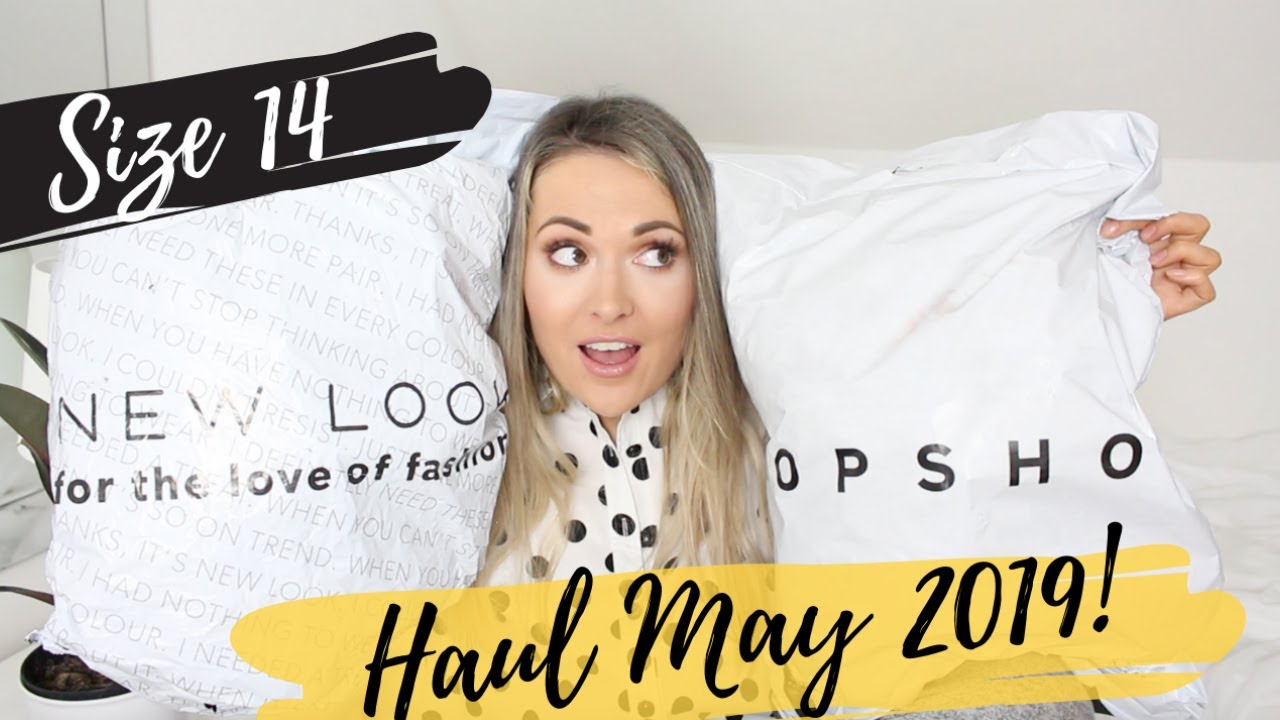 1adcac90aaaea SIZE 14 TRY ON HAUL!! - TOPSHOP NEW LOOK + H&M / MAY 2019 - YouTube