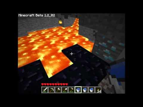 Minecraft Туториал 4 Как найти алмазы, свино-ферма