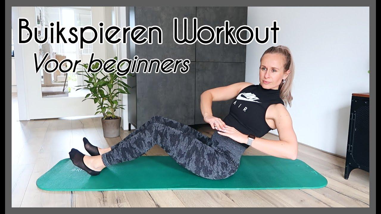 10 min Buikspieroefeningen voor beginners  Buikspieren workout voor thuis OPTIMAVITA