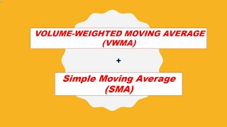 Moving Average (MA) + Volume Weighted Moving Ave. (VWMA) - stock technical method tagalog