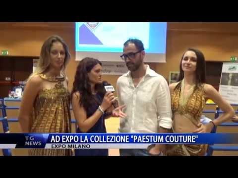 AD EXPO LA COLLEZIONE PAESTUM COUTURE