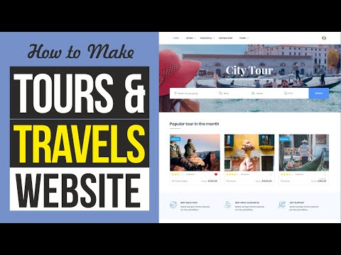 How to Make Tours & Travels Website with WordPress & Traveler Theme 2020
