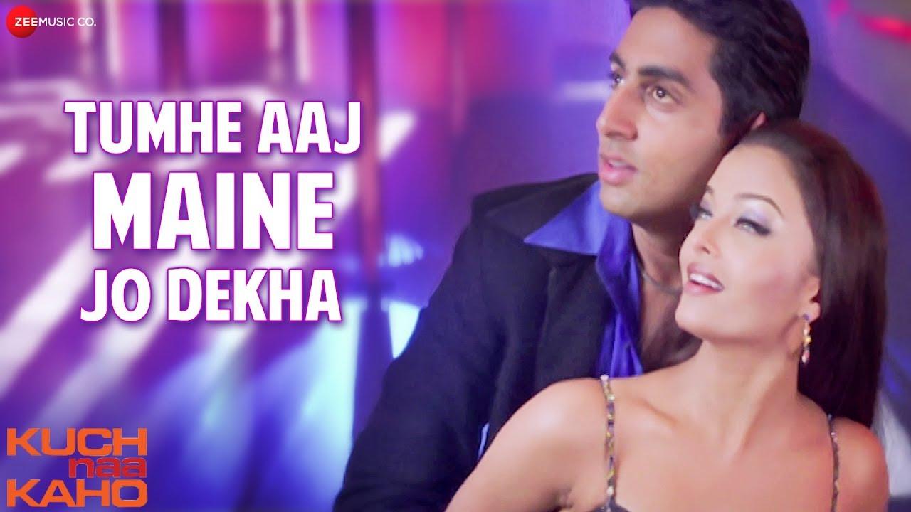 Download Tumhe Aaj Maine Jo Dekha - Full Video   Kuch Naa Kaho   Abhishek Bachchan & Aishwarya Rai Bachchan