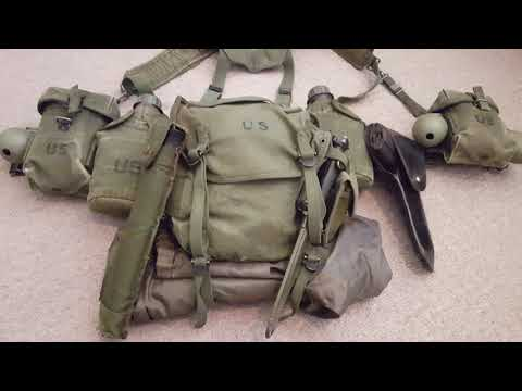 Vietnam War Army Web Gear 1969-1972