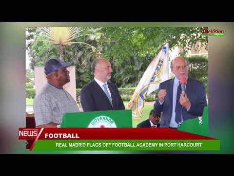 REAL MADRID FLAGS OFF FOOTBALL ACADEMY IN PORT HARCOURT