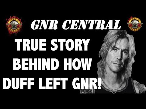 Guns N' Roses: True Story Behind Duff McKagan Leaving Guns N' Roses (1997)
