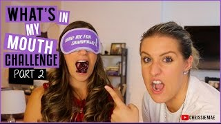 WHAT'S IN MY MOUTH | PART 2 | HEATHER'S REBUTTAL!