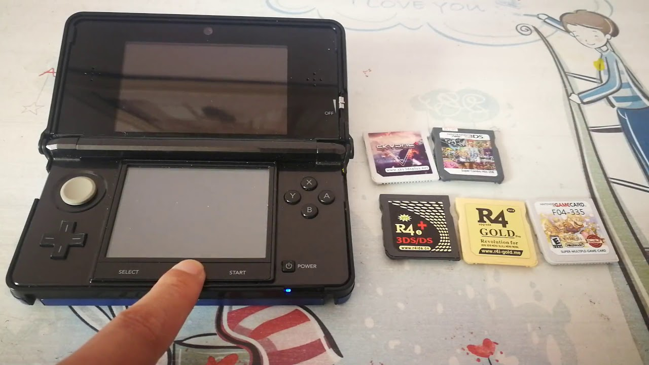 Flashcarts Working Fine on 3DS with Standard Stock Firmware 11 8 0-41U