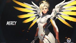 Overwatch - Mercy - Alguém precisa de cura?