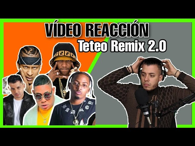 El Fecho RD, You R X Bulin 47,  Quimico Ultra Mega, Shadow Blow - Teteo Remix 2 Video Reacción