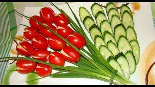 Вкусный рецепт.Салат к 8 марта,который готовится быстро и легко.