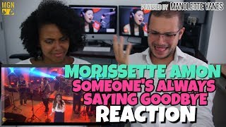 Morissette Amon - Someone's Always Saying Goodbye | MYX Live | PATREON REACTION