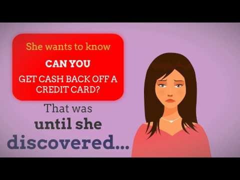 Can You Get Cash Back Off Credit Card