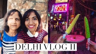 Delhi Vlog II (2016): Hauz Khas Village, Majnu ka Tilla, Meeting YouTubers! // Magali Vaz