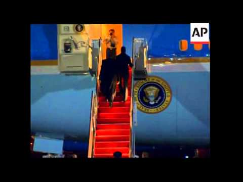 Obama leaves for Norway to accept Nobel peace prize