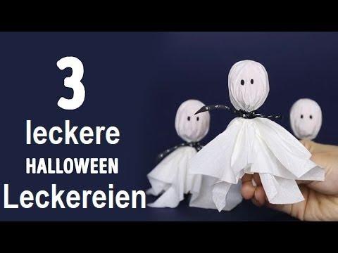 3 Leckere Halloween Leckereien Die Du Jetzt Machen Solltest Youtube