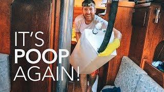 GOODBYE Marine Head & Holding Tank, HELLO Composting Toilet  | Sailing Soulianis - Ep. 17
