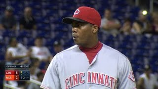 Chapman extends consecutive strikeout record