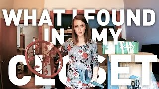 Hoarder to Minimalist | Watch me KonMari the crap out of my closet! Ep. 6