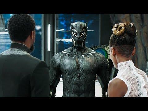 Т'Чалла выбирает себе новый костюм.Чёрная Пантера.2018